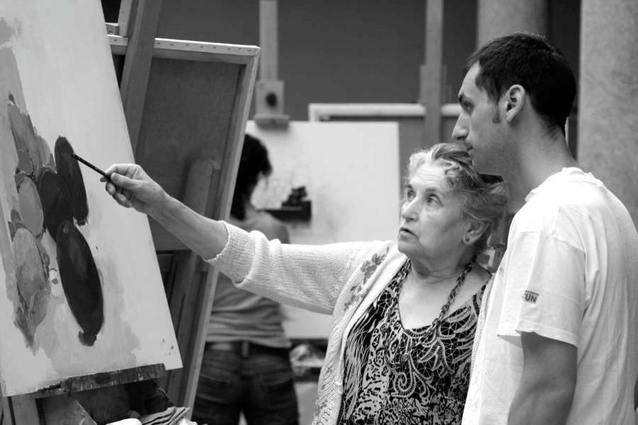 alberto-romero-maria-moreno-pintura
